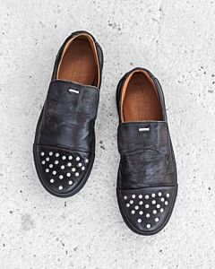 Loafer-waxed-grain-leather-Black