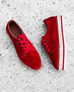Lace-up-espadrille-suede-Red