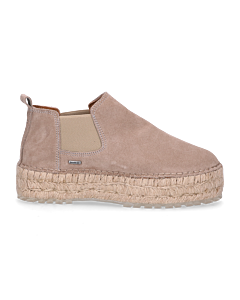 Espadrille-Chelsea-boot-suede-Taupe