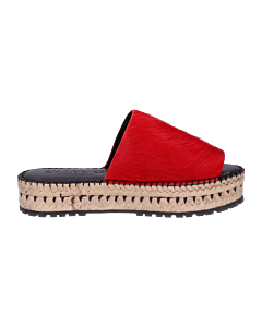 Rode-espadrille-slipper