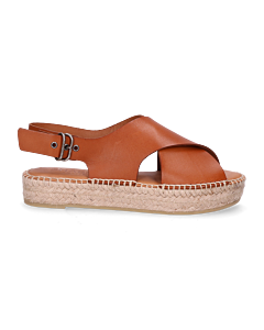 Espadrille-sandal-smooth-leather-cognac