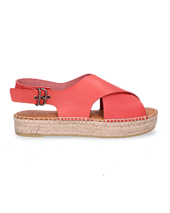 Espadrille-sandal-smooth-leather-rose