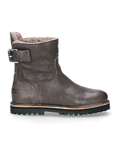 Ankle-boot-smooth-leather-Grey