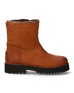 Ankle-boot-with-fur-lining-cognac