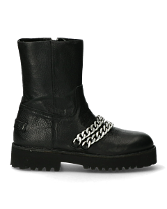 Black-ankle-boot-with-zipper-