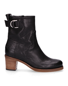 Ankle-boot-with-buckle-black