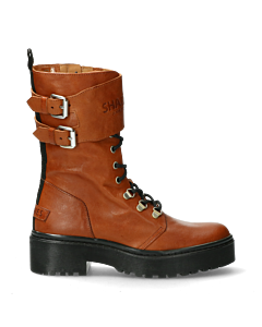 Ankle-boot-lace-up-with-zipper-cognac