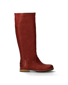Tall-shaft-boot-red-brown