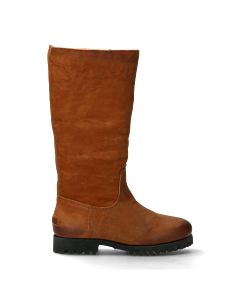 Boot-with-wool-lining-cognac