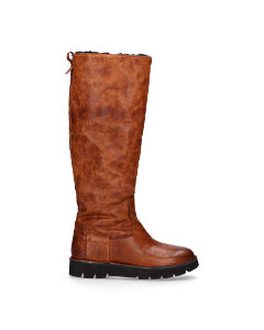 Tall-shaft-boot-from-grain-leather-light-brown