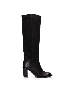 Heeled-boot-black