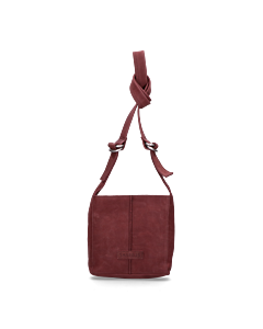 Shoulderbag-waxed-grain-leather-Bordeaux