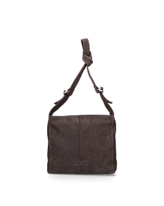 Shoulderbag-waxed-grain-leather-Dark-Brown