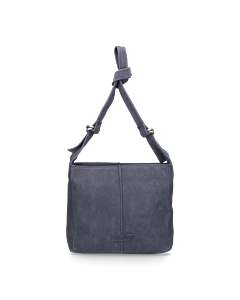 Shoulderbag-waxed-grain-leather-Navy