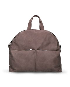 Backpack-hand-buffed-leather-Taupe