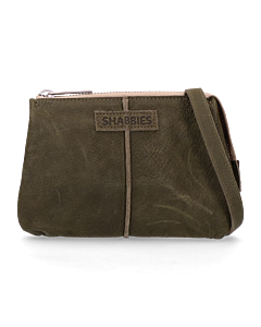 Cross-body-waxed-grain-leather-Dark-Green