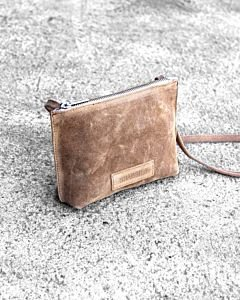 Evening-bag-waxed-suede-Light-Brown