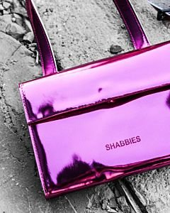 Evening-bag-patent-leather-Fuchsia-Rose-