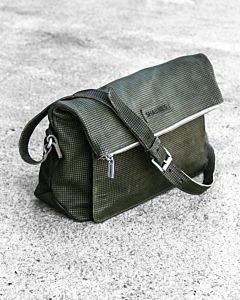 Shoulderbag-printed-smooth-leather-Dark-Olive