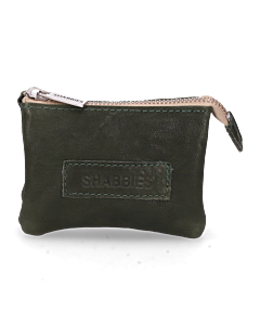 Wallet-small-smooth-leather-Green