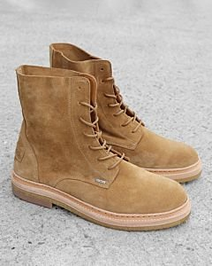 a6700bbdc7b Lace-up-boot-suede-light-brown
