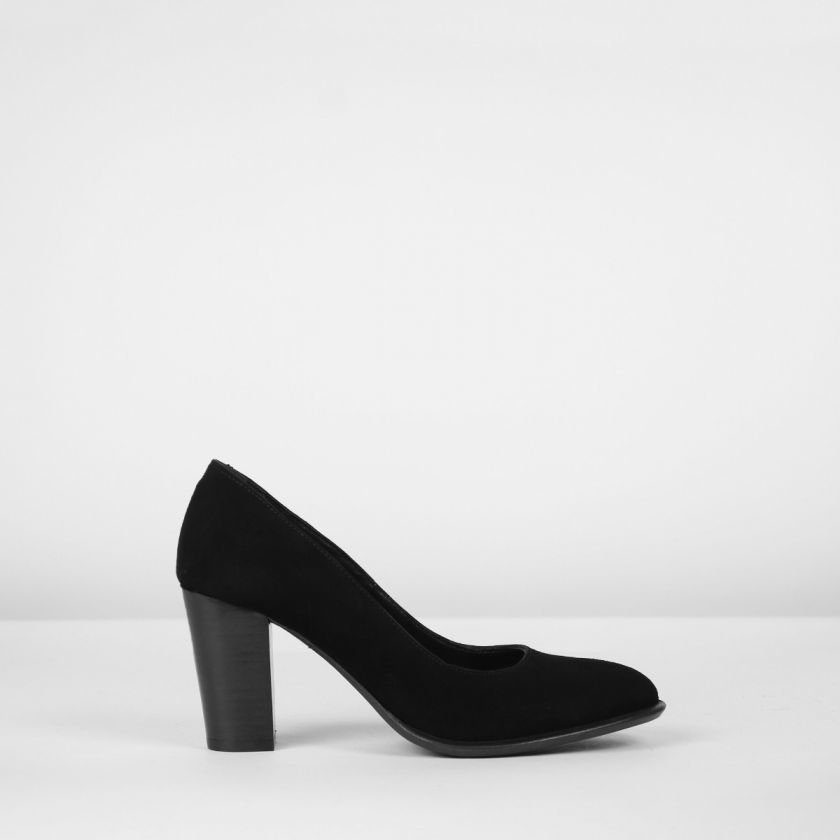 Pumps-suede-Black