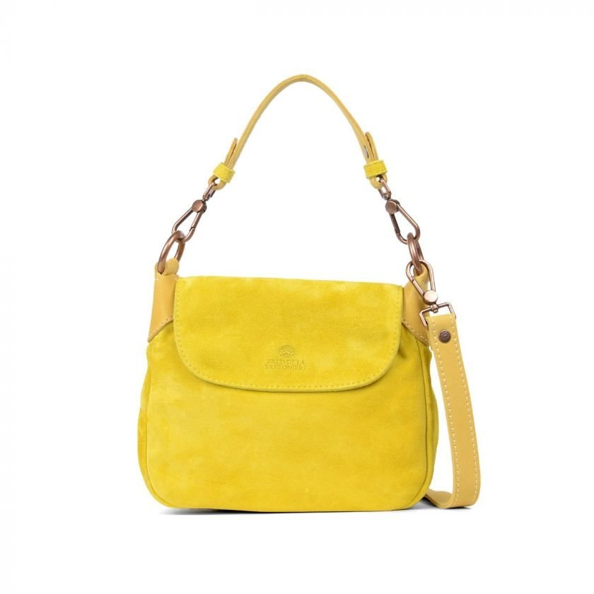 SHOULDERBAG-SMALL-SUEDE-Mustard-Yellow