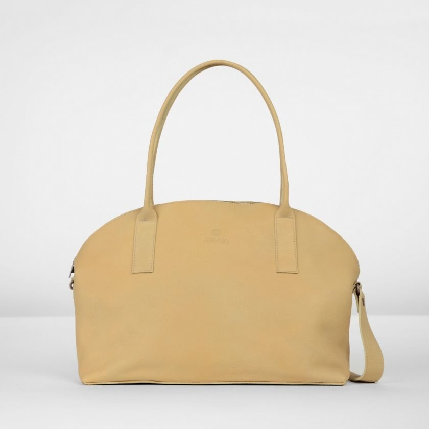 Shoulderbag-handbuffed-leather-Light-Brown