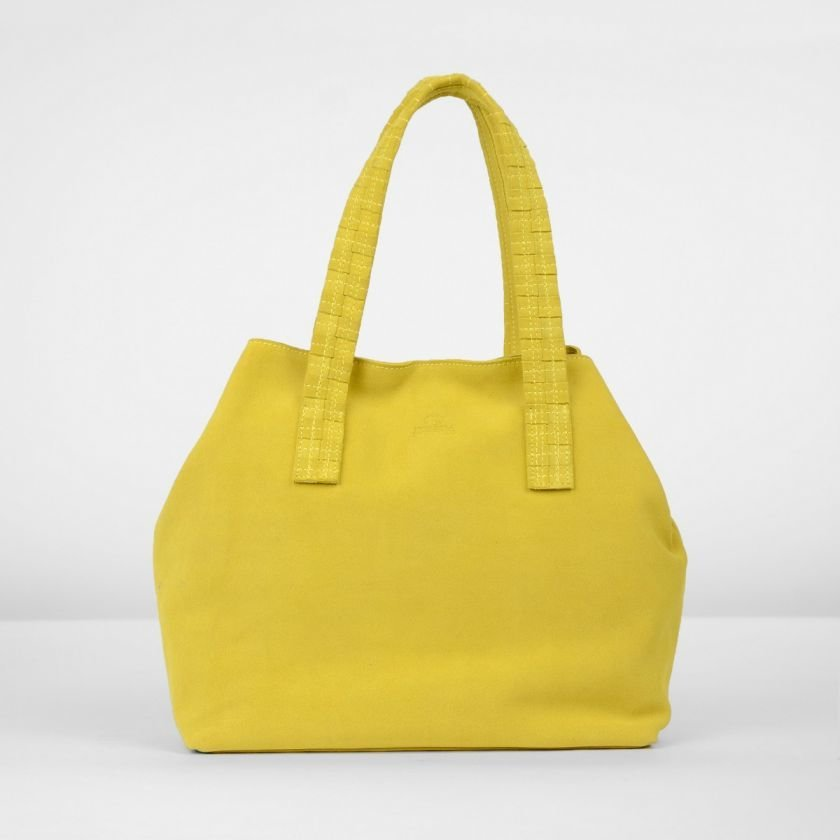 SHOULDERBAG-MEDIUM-SUEDE-Mustard-Yellow