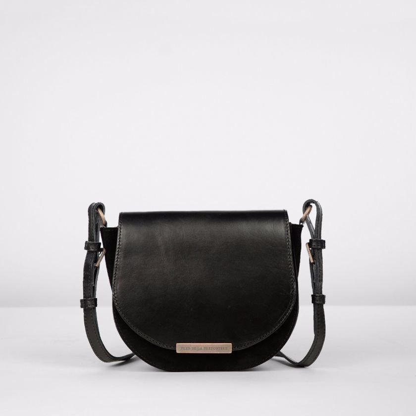 Shoulderbag-suede-Black-