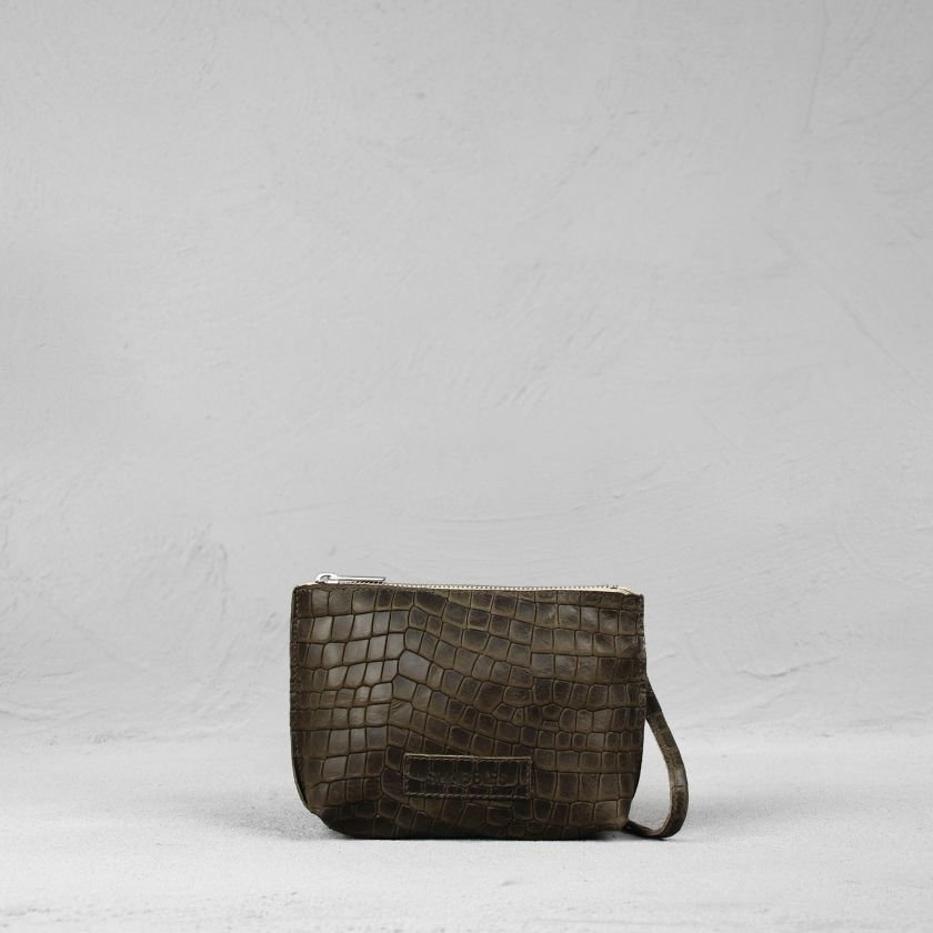 Cross-body-small-printed-leather-Olive-Brown