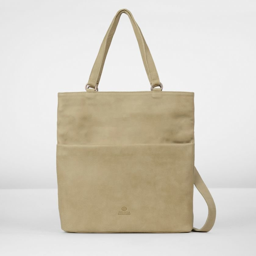 Shoulderbag-hand-buffed-leather-Beige