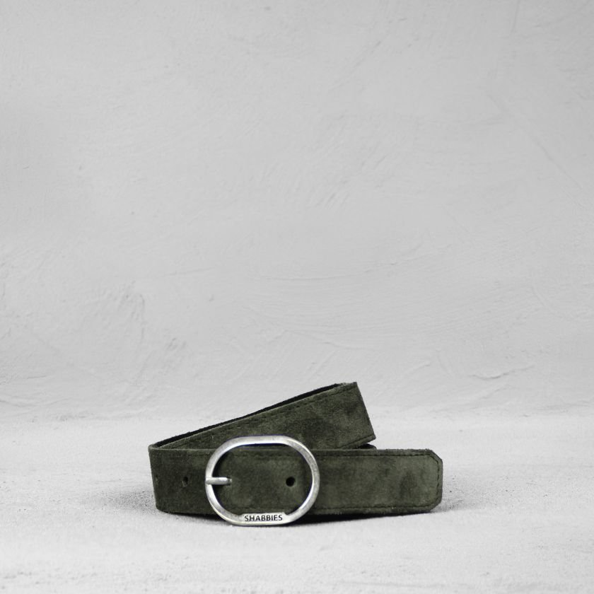 Belt-suede-Dark-Olive