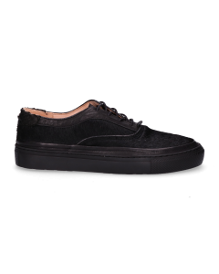 Sneaker-soft-smooth-leather-with-haircalf-Black