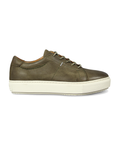 Sneaker-waxed-grain-leather-Olive-Green