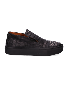 Loafer-croco-printed-leather-Black-