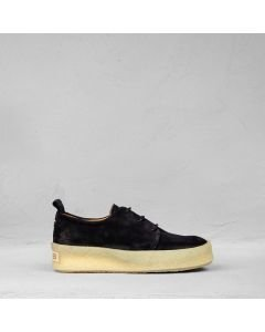 Lace-up-shoe-suede-black