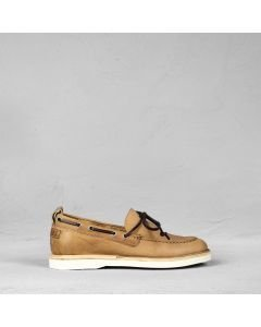 Loafer vegetable tanned leather Brown