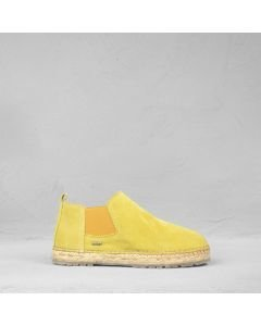 Espadrille-chelsea-boot-suede-mustard-yellow