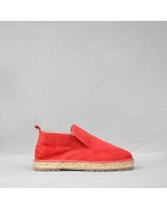 Espadrille-loafer-suede-red