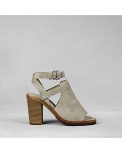 Sandal suede Taupe