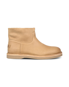 Ankle-boot-grain-leather-light-brown