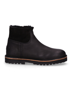 Ankle-boot-waxed-grain-leather-double-face-Black-