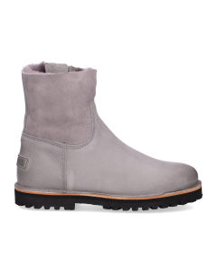 Ankle-boot-waxed-grain-leather-double-face-Grey