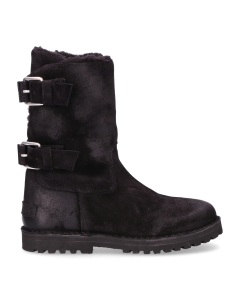 Lined-ankle-boot-waxed-suede-black