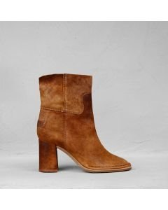Ankle-boot-reversed-leather-brown