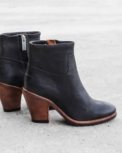 Ankle-boot-waxed-grain-leather-Black-