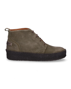 High-lace-up-shoes-waxed-suede-green