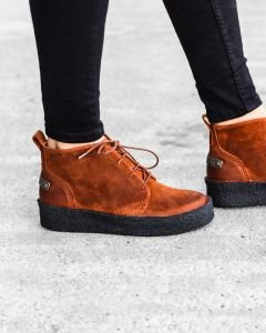 High-lace-up-shoes-waxed-suede-orange