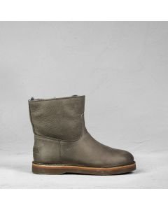 Ankle-boot-heavy-grain-leather-Taupe